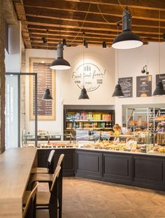 Discount Fall Home Decorations Bakery Shop Interior, Bakery Shop Design, Coffee Shop Interior Design, Cafe Design, Store Design, Design Design, Bakery Store, Bakery Cafe, Bakery Decor
