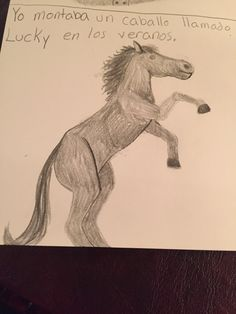 A horse-by: Madison Latella