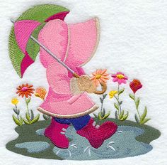 April Showers Sunbonnet Sue