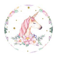 Rodelina Unicornio Gratis 1st Birthday Cake Topper, Unicorn Cake Topper, Unicorn Painting, Unicorn Art, Buda Wallpaper, Rainbow Story, Unicorn Backgrounds, Unicorn Illustration, Unicorn Pictures
