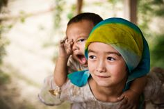 Kids in Hotan Town by Wanlop Udompornvirat on 500px