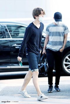 Baekhyun   150619 Incheon Airport departing for Bangkok