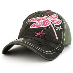 a6d3592cf6 Trendy Apparel Shop Dragonfly Embroidered Stitch Multi Color Baseball Cap  Review. Fashion HatsFashion OutfitsWomen's ...