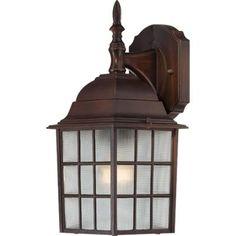 Nuvo Lighting - 60/4905 - One Light Outdoor Wall Mount - Rustic Bronze