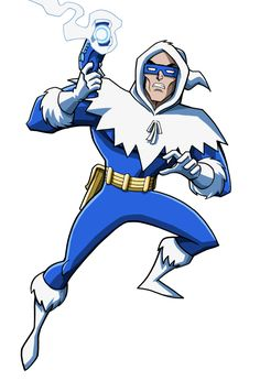 DC Villains Bio - Captain Cold by LucianoVecchio on deviantART