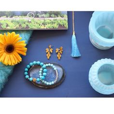 | Styled & Photographed by: Bri Ramos, www.thebuzzbrand.com |  Shades of #Blue