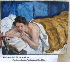 woman reading in bed by Erwin Puchinger Woman Reading, Reading In Bed, Book Reader, Art Deco, Art Nouveau, Painters, French, Women, Image