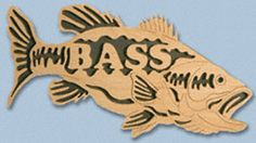 Wooden Fish - Bass Project Pattern