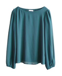 Blouse in Teal | Promod