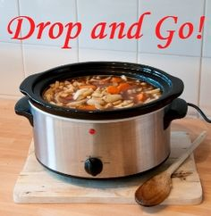 Drop and Go! Anti-Inflammatory Soup. Vegan friendly.