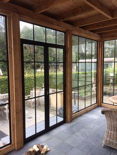 Patio Deck Designs, Patio Design, Exterior Design, Interior And Exterior, English Farmhouse, House Deck, Deck With Pergola, Earthship, Next At Home
