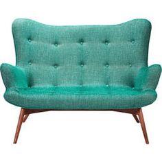 Sofa Angels Wings Rhythm Green 2-Seater