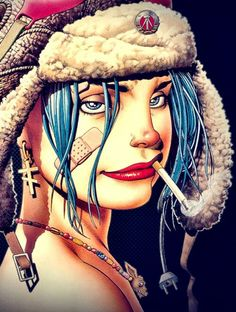 Tank girl would make a sick tattoo