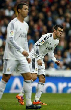 Bale & Cristiano Ronaldo.