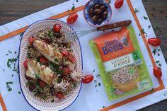 ΠΟΛΥΧΡΩΜΗ ΓΙΟΡΤΙΝΗ ΠΑΤΑΤΟΣΑΛΑΤΑ — Paxxi Brown Rice Salad, Calamari, Quinoa, Roast, Mexican, Yummy Food, Chicken, Ethnic Recipes, Youtube