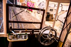 Steering wheel in the yellow bus by Mingtian  on 500px