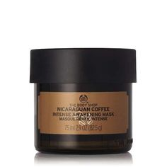 The Body Shop Nicaraguan Coffee Intense Awakening Mask Nicaraguan Coffee Intense Awakening Mask The Body Shop, Body Shop At Home, Fragrance Parfum, Theobroma Cacao, Charcoal Benefits, Charcoal Face Wash, Banana Benefits, Coffee Face Mask