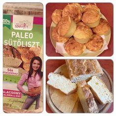 Szafi Fitt paleo kenyér, zsemle, pogácsa és pizza recept (csökkentett kalória és szénhidrát)