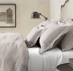 stonewashed belgian linen bedding collection | new bedding
