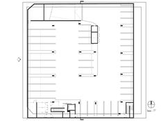Image 24 of 31 from gallery of / Lorcan O'Herlihy Architects. Bar Chart, Floor Plans, Diagram, Flooring, Architects, How To Plan, Gallery, Fotografia, Architecture
