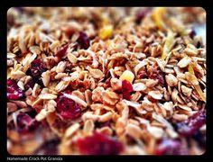 Homemade Granola in a Slow Cooker {Recipe ReDux} - Jen Haugen RD