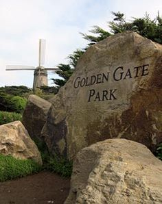 Golden Gate Park - San Francisco, CA  (the third most visited city park in the U.S.) The park features architecturally exquisite attractions such as de Young Museum, California Academy of Sciences and Conservatory of Flowers.