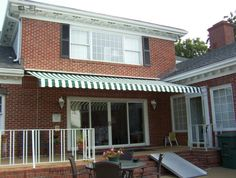 Extend your backyard fun with a retractable awning from A&A Awnings! Ask about our FREE Motor!