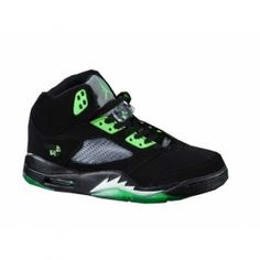 big sale 81d08 4893b Nike Air Jordans 5(V) Black Green  84.00 http   www.