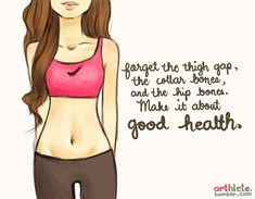 """""""I Don't Have a Thigh Gap."""" – Who Cares! You're Beautiful. 
