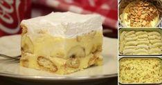 Potom pridáme sušienky, ktoré najprv rozmixujeme na malé kúsočky (nemixujeme najemno, ale tak, a by sme mali väčšie kúsky) .Ak nemáte po ruke mixér, môžete [...] Desserts To Make, Cookie Desserts, Bread Dough Recipe, Czech Recipes, Pie Dessert, Desert Recipes, Cake Cookies, No Bake Cake, Sweet Recipes