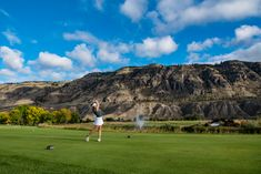 Whether you are a par three type of golfer or a golf and country club member, Kamloops has a course that is sure to challenge you and your handicap! Rv Sites, The Dunes, Green Grass, Golf Courses, Tourism, Challenges, Landscape, Play, Beautiful