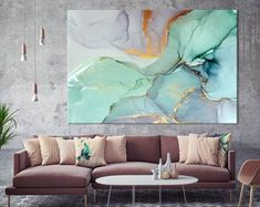 Large Canvas Prints - Modern Wall Art for Home & Office von ExtraLargeWallArts Wooden Wall Art, Large Wall Art, Grand Art Mural, Large Canvas Prints, Bedroom Prints, Art Moderne, Office Wall Decor, Ocean Art, New Wall