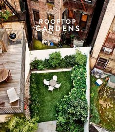west village rooftop garden by foras. / sfgirlbybay