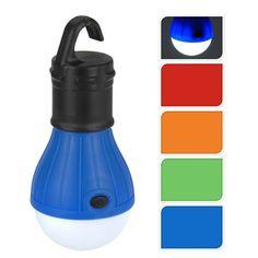 Breng eenvoudig licht in het donker met deze lamp met LED verlichting op batterijen. De lamp heeft een gekleurde bovenzijde en een handige ophanghaak. Verschillende kleuren worden door elkaar geleverd. Exclusief batterijen. Afmeting: 12 x 5 x 5 cm - Lamp met LED Verlichting