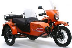 Ural Limited Edition Yamal Sidecar Motorcycle.  Paddle Included