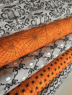 A personal favorite from my Etsy shop https://www.etsy.com/fabricshoppe/listing/539761349/halloween-fabric-eerily-elegant-deb