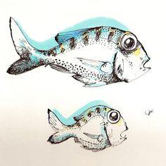 fish drawings tumblr - Google Search
