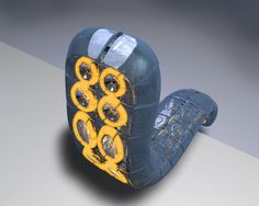 Robot worm by ~net-surfer