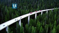 Denny Creek Viaduct, WA   <   Driving above the trees   /   img