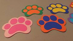 Paw Patrol Dog Paws DIY Paws Decorations for Birthday Party