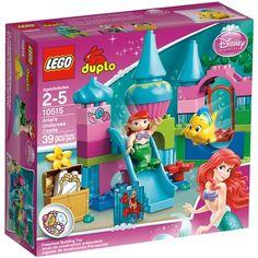 LEGO DUPLO Princess Ariel Undersea Castle Play Set - Walmart.com