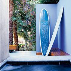 Decks Santa Monica lounge-Gosh I love periwinkle blue-hands down, my favorite color~GirlNesting