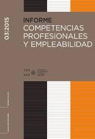Competencias profesionales y empleabilidad