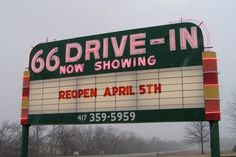 Route 66 Drive in Theatre in Joplin, MO...reopening soon!