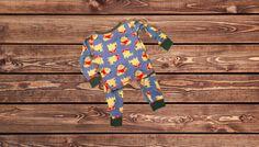 Boys 2 Piece Pajamas (Size: 18 Months)
