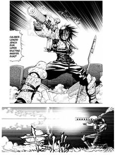 Sechs - Battle Angel Alita Character (the only good thing in Last Order)