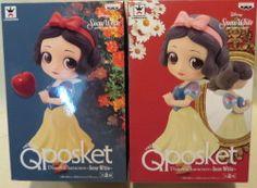 バンプレスト Q posket Disney Characters Snow White ディズニー 全2種セット白雪姫