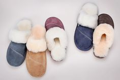 How is it possible not to own a pair of a Nuknuuk slippers? Sheepskin Slippers, Scarf Hat, Make And Sell, Leather, Women, Women's