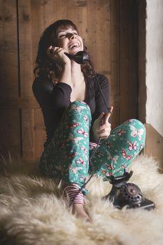 theblogbook | sewing | pajama pants, lillestoff