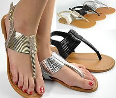 Sandals Flat Gladiator